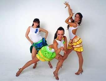 Латина-соло, красота в танце по латиноамерикански